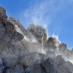 Wolkenspiel am Kraterrand