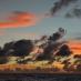 Wolkenschichten Atlantik