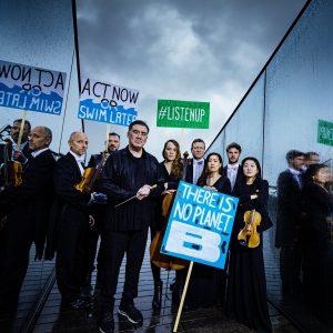 Protest-Konzert: der Klimawandel ist hörbar